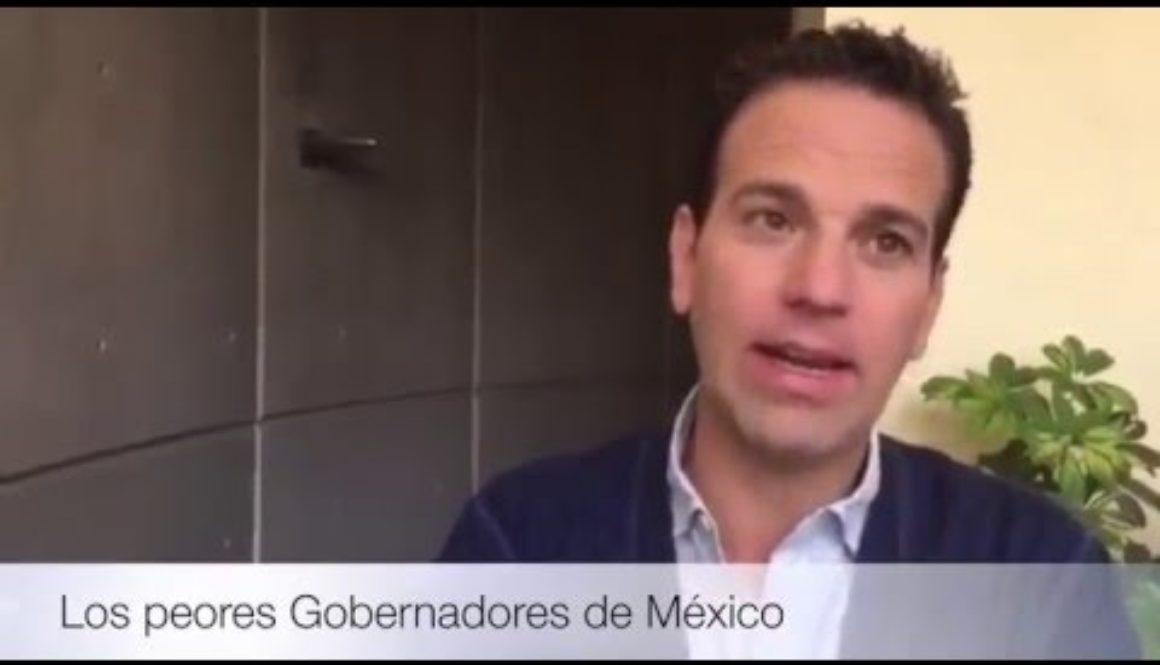 Javier Duarte el peor gobernador.